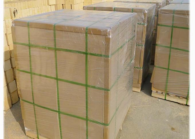 Standard Insulating High Alumina Brick / Low thermal conductivity heat Resistant Bricks