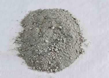 China Cement Kiln Castable Refractory Cement With Steel Fiber Reinforced Corundum distributor