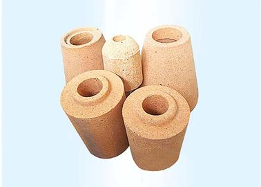 China Red Special Shaped Heat Resistant Fire Bricks Low Refractory Under Load distributor