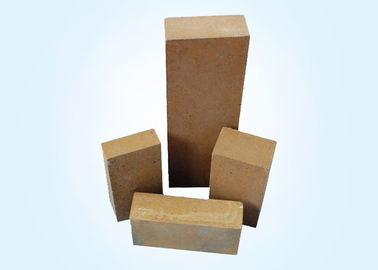 China Gloden Magnesia Refractory Bricks For Metal Mixer Working Layer And Furnace distributor