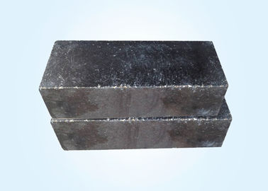 China Black Magnesite Carbon Bricks , Magnesia Refractory Bricks For AC Arc Furnaces And Linings distributor